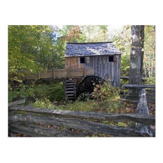 Carte Postale Les Etats-Unis - Le Tennessee. Moulin de câble