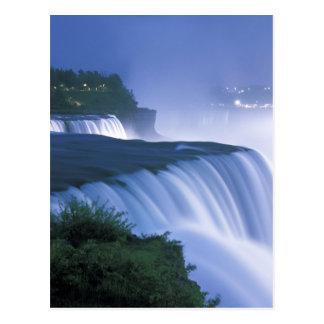 Carte Postale Les Etats-Unis, New York, chutes du Niagara.
