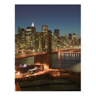 Carte Postale Les Etats-Unis, New York, New York City, Manhattan