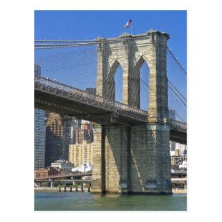 Carte Postale Les Etats-Unis, New York, New York City. Pont de