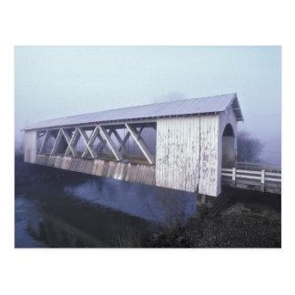 Carte Postale Les Etats-Unis, Orégon. Envergures de pont couvert