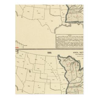 Carte Postale Les Etats-Unis thématiques