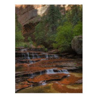 Carte Postale Les Etats-Unis, Utah, parc national de Zion.