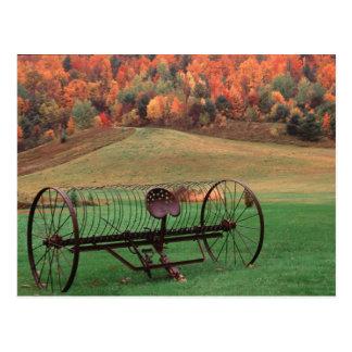 Carte Postale Les Etats-Unis, Vermont, ferme