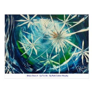 Carte Postale Les étoiles de Billy 4 - pour l'air - Ruth Calder
