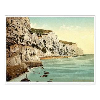Carte Postale Les falaises, classique Photochrom de Douvres,