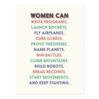 """Carte Postale Les femmes de merveille """"femmes mettent en boîte…"""""""