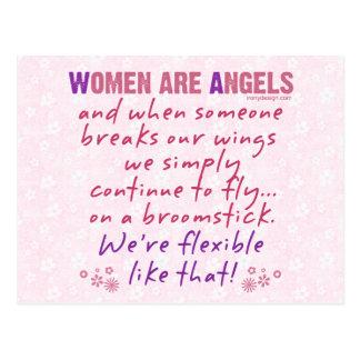 Carte Postale Les femmes sont des anges