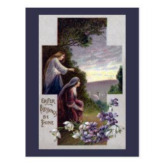 Carte Postale Les femmes voient trois croix sur le calvaire