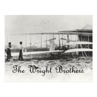 Carte Postale Les frères de Wright