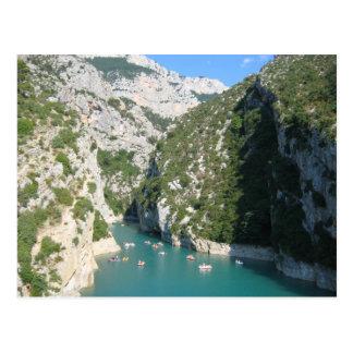 Carte Postale Les gorges du Verdon -