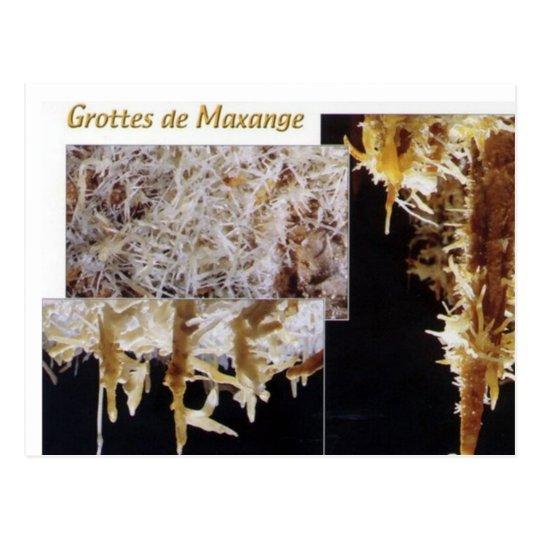 Carte Postale Les grottes de Maxange -