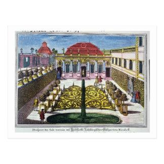 Carte Postale Les jardins du parc de mirabelle, Salzbourg, Austr
