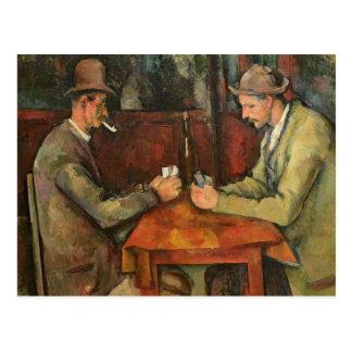 Carte Postale Les joueurs de carte, 1893-96
