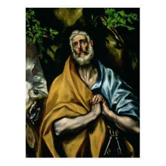 Carte Postale Les larmes de St Peter, 1580s en retard