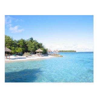 Carte Postale Les Maldives