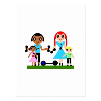 Carte Postale Les mamans peuvent se soulever