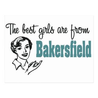 Carte Postale Les meilleures filles sont de Bakersfield