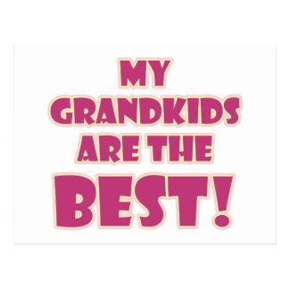 Carte Postale Les meilleurs Grandkids
