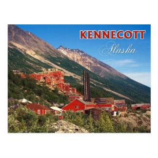 Carte Postale Les mines de cuivre historiques de Kennecott, AK