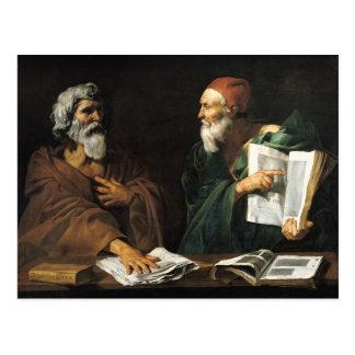 Carte Postale Les philosophes