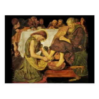 Carte Postale Les pieds du disciple de Jésus