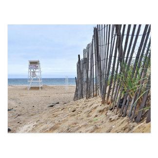 Carte Postale Les plages de dune de sable de Montauk, NY