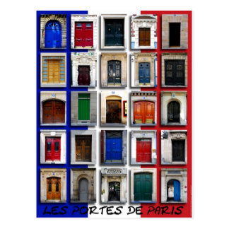 Carte Postale Les Portes De Paris