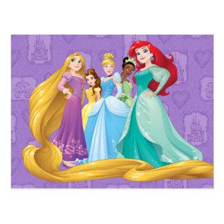 Carte Postale Les princesses de Disney   courageux est féroce