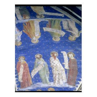 Carte Postale Les prophètes le travail, Isaïe, Jérémie, Solomon