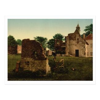 Carte Postale Les puits de Hougoumont, Waterloo, Belgique