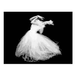 Carte Postale Les ressembler classiques de danseur à lui vole