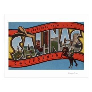 Carte Postale Les salines, la Californie - grandes scènes de