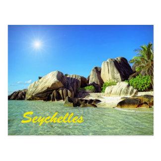 Carte Postale Les Seychelles
