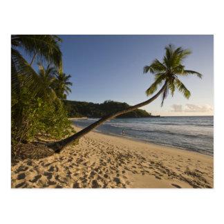 Carte Postale Les Seychelles, île de Mahe, plage d'Anse