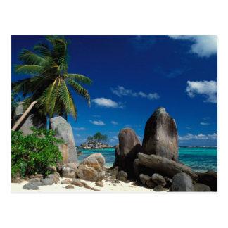 Carte Postale Les Seychelles, île de Mahe, plage d'Anse Royale