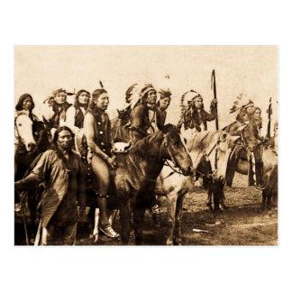 Carte Postale Les Sioux puissants