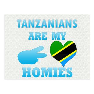 Carte Postale Les Tanzaniens sont mon Homies
