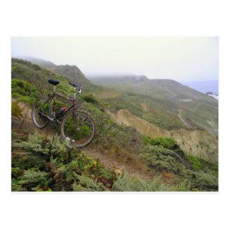 Carte Postale Les traînées de vélo aux roches de moule