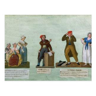 Carte Postale Les tricoteuses de Jacobin