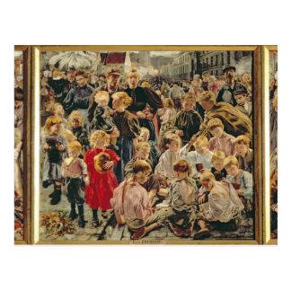Carte Postale Les trois âges d'un ouvrier, 1895
