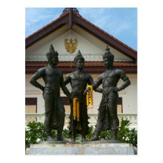 Carte Postale Les trois Rois Monument