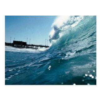 Carte Postale Les vents de Santa Ana sculptent des ressacs