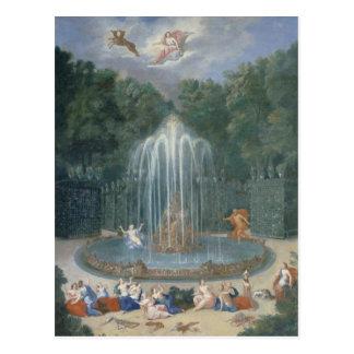 Carte Postale Les vergers de Versailles. Vue d'étoile ou d'eau