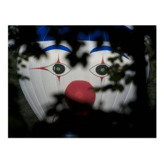 Carte Postale Les yeux d'un clown