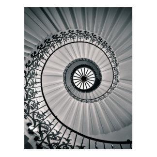 Carte Postale L'escalier de tulipe, la Chambre Greenwich de la