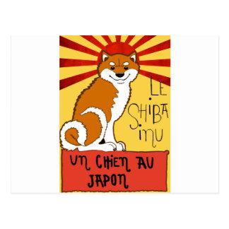 Carte Postale LeShiba