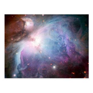 Carte Postale L'espace de pourpre de nébuleuse d'Orion