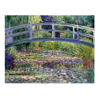 Carte Postale L'étang de nénuphar par Claude Monet
