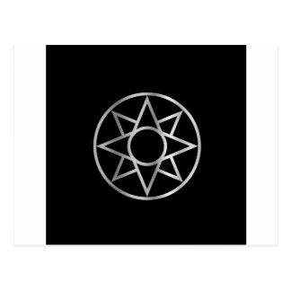Carte Postale L'étoile Mésopotamien d'Ishtar